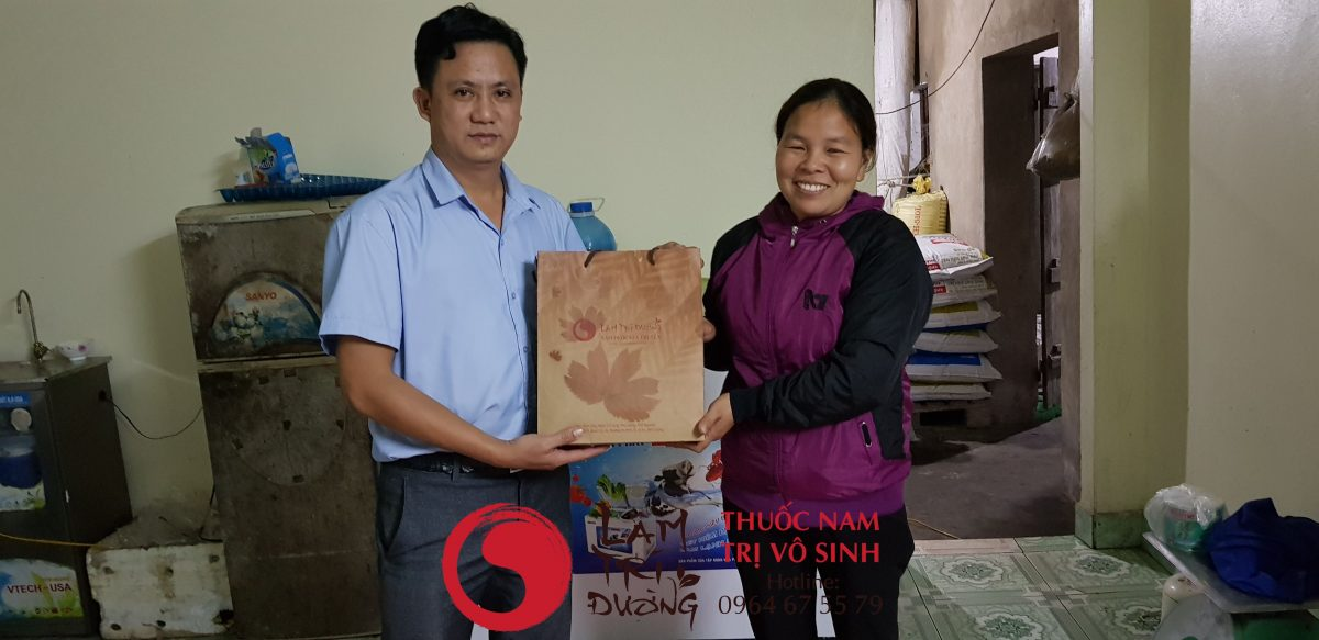 Bệnh quai bị và biến chứng vô sinh, chụp cùng bệnh nhân điều trị thành công vô sinh tại Lâm Trí Đường