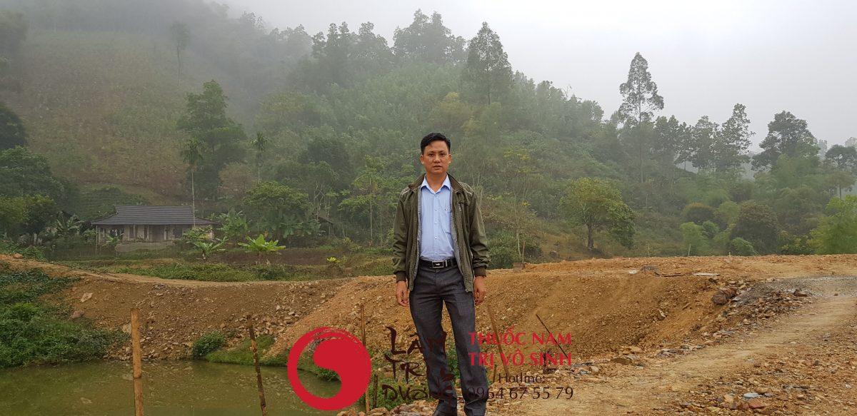 Dấu hiệu vô sinh nam giới, Khu đồi trồng dược liệu của Lâm Trí Đường