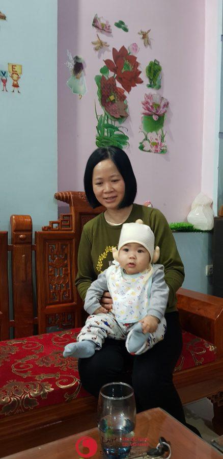 Vô sinh ở nam có chữa được không, ảnh mẹ con chị Hiếu, sinh con theo nguyện vọng