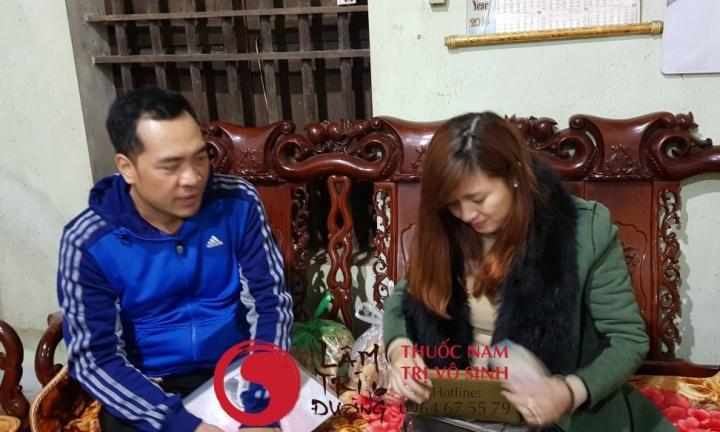 Vô sinh ở Việt Nam, bệnh nhân điều trị thuốc nam trị vô sinh Lâm Trí Đường