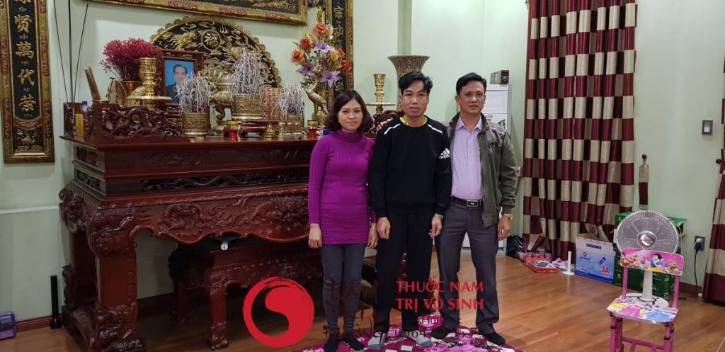 Chữa vô sinh hiệu quả, ảnh chụp cùng bệnh nhân điều trị thành công tại Lâm Trí Đường