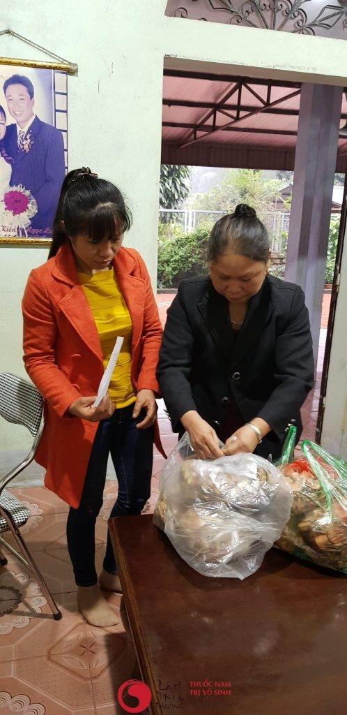 Những bài thuốc nam chữa vô sinh - Bệnh nhân điều trị vô sinh hiếm muộn tại Lâm Trí Đường