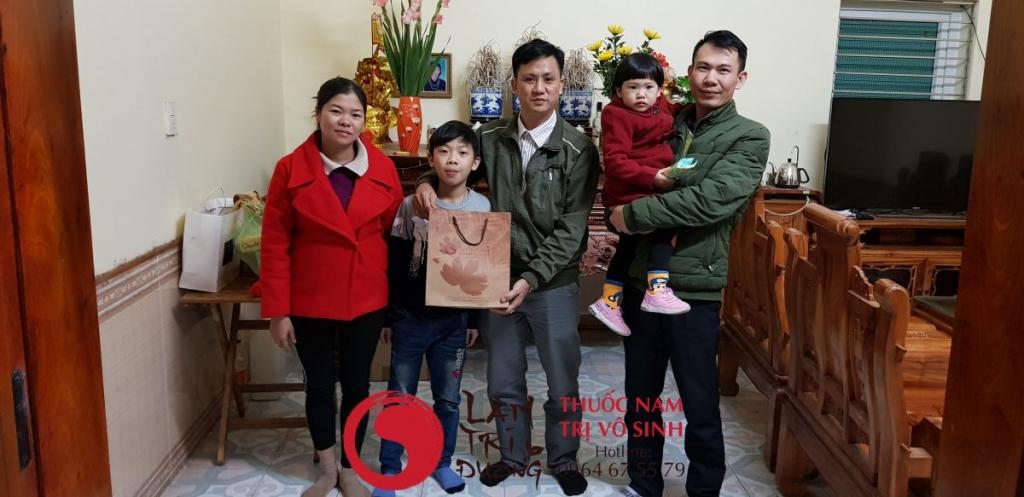 Vô sinh ở nữ, ảnh chụp cùng bệnh nhân điều trị vô sinh hiệu quả tại Lâm Trí Đường