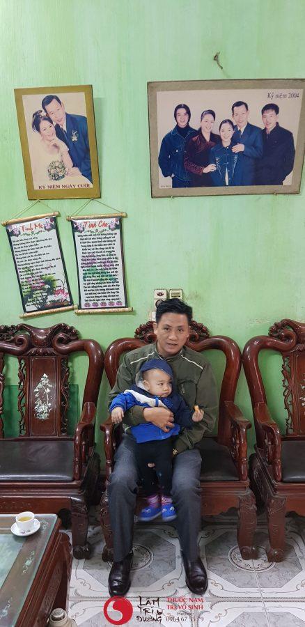Hiếm muộn và tâm linh, Ảnh chụp cùng con bệnh nhân điều trị vô sinh hiếm muộn thành công tại Lâm Trí Đường