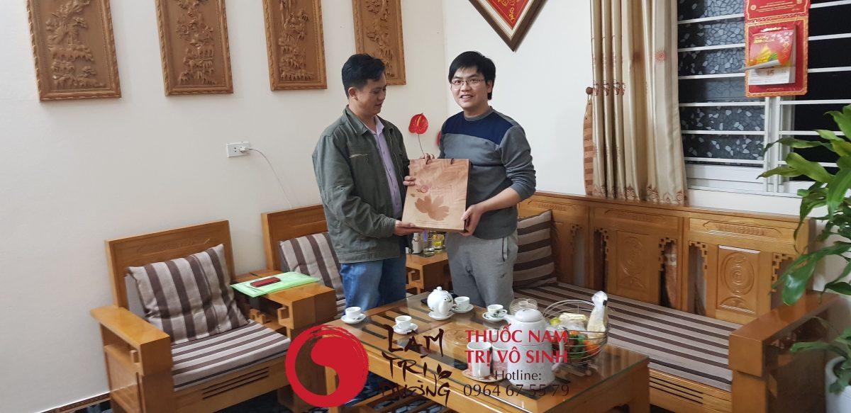 Bệnh nhân trị vô sinh hiếm muộn hiệu quả tại Lâm Trí Đường