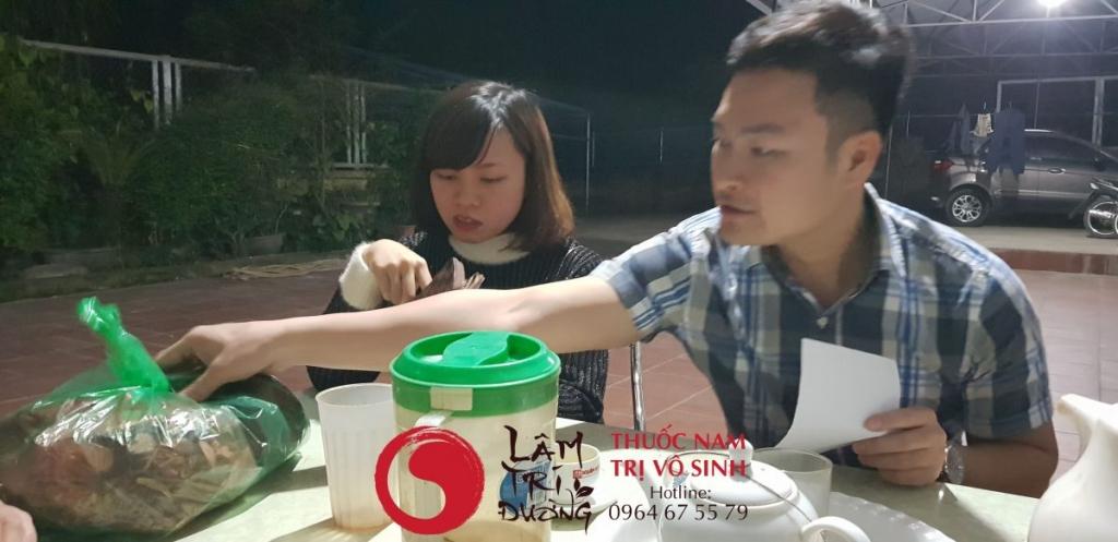 Chữa vô sinh bằng y học cổ truyền - Bệnh nhân điều trị vô sinh hiếm muộn tại Lâm Trí Đường
