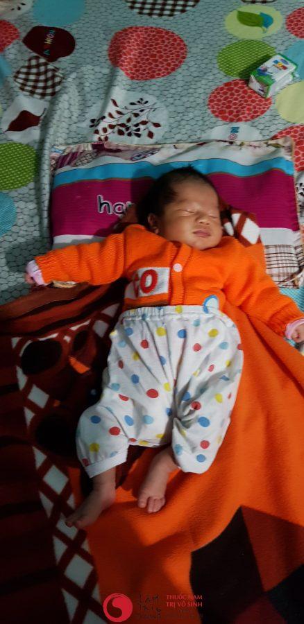 Chữa vô sinh bằng y học cổ truyền - Con bệnh nhân điều trị vô sinh hiếm muộn tại Lâm Trí Đường