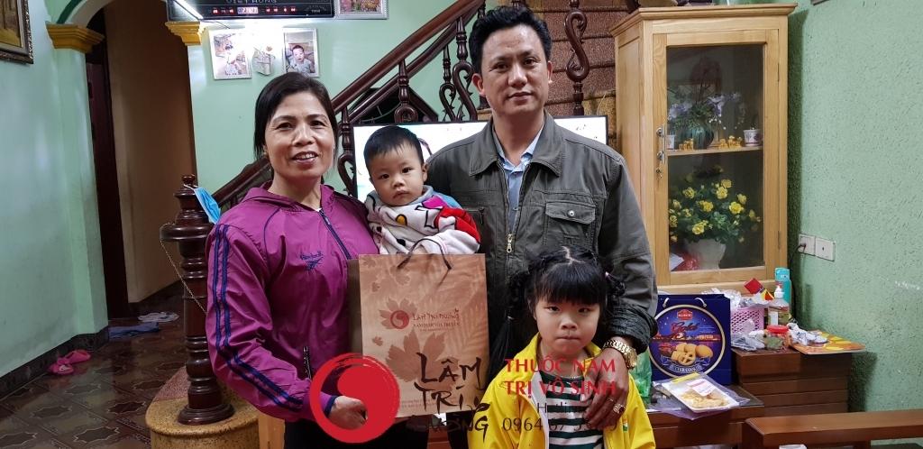 Bệnh nhân điều trị vô sinh thành công tại Lâm Trí Đường
