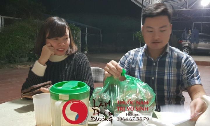 Vô sinh bẩm sinh ở nam, ảnh bệnh nhân điều trị vô sinh tại Lâm Trí Đường