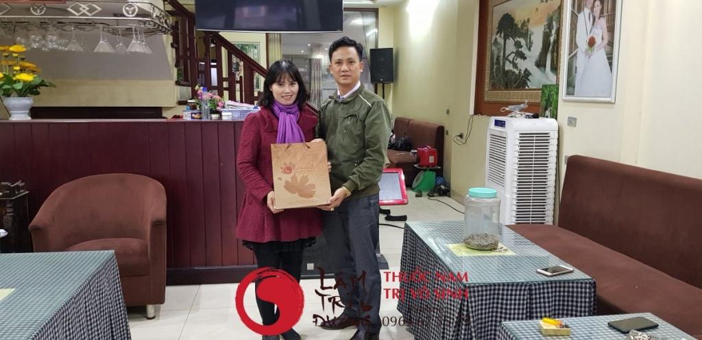 thực phẩm chữa vô sinh nữ, ảnh chụp cùng vợ anh Trường sinh con theo nguyện vọng
