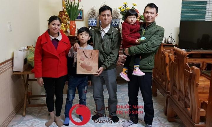 trị vô sinh hiếm muộn, bệnh nhân lấy thuốc điều trị vô sinh hiếm muộn tại Lâm Trí Đường
