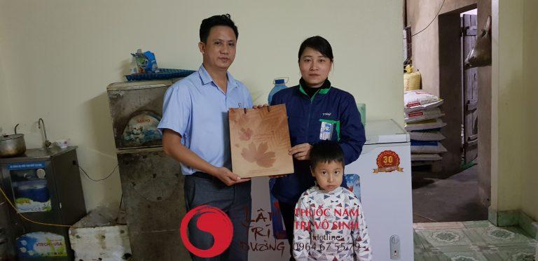 Bị vô sinh có kinh nguyệt không, ảnh bệnh nhân điều trị thành công tại Lâm Trí Đường.