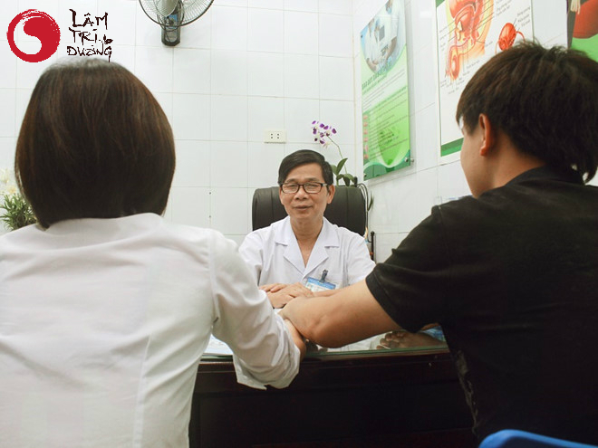 Sau khi được tư vấn hiếm muộn qua điện thoại, bệnh nhân cần đi thăm khám trực tiếp để tìm nguyên nhân