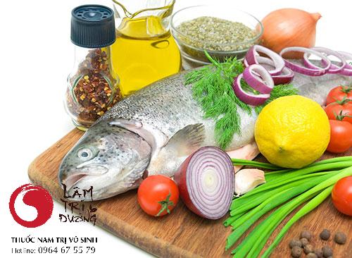 Hiếm muộn nên ăn gì? Ảnh minh họa cho thực phẩm giàu dưỡng chất