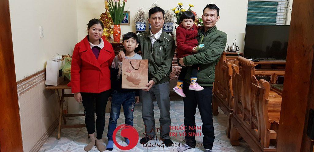 Bệnh nhận điều trị thành công vô sinh tại Lâm Trí Đường
